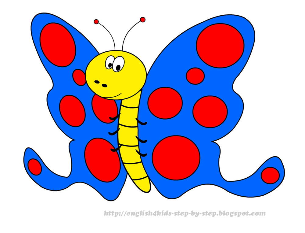 1000x762 Free Children's Butterfly Clipart