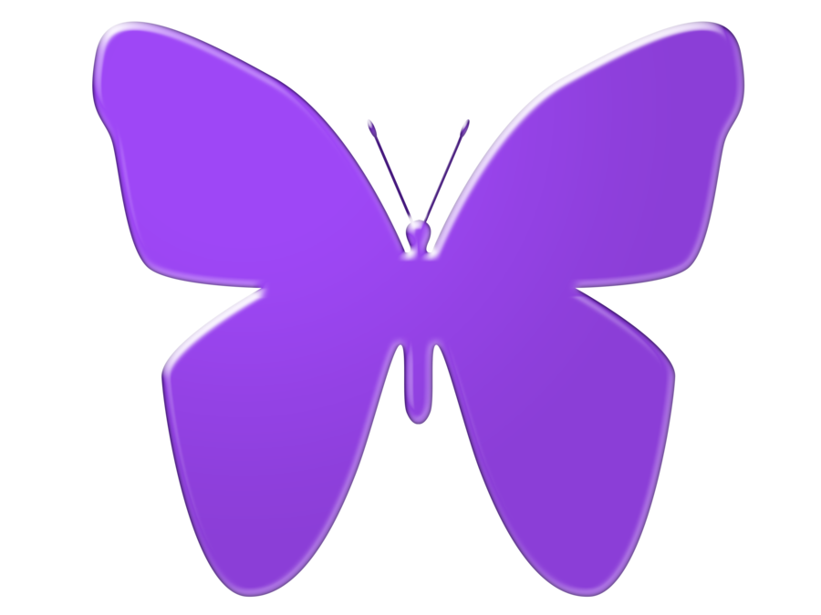 900x675 Butterfly Clipart Lilac