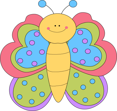 410x390 Butterfly Clip Art Butterfly Images 3 Image 7