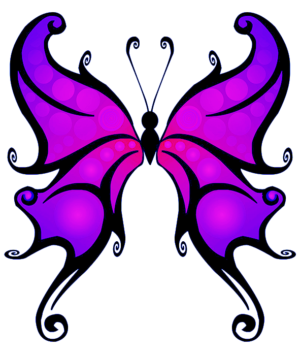 591x697 Butterfly Clipart Transparent Png
