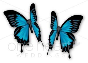 300x217 Blue Butterflies Clip Art Wedding Bird And Butterfly Clipart