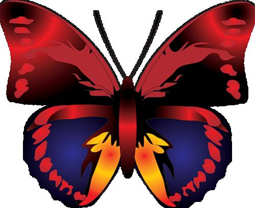 500x409 Top 87 Butterfly Clip Art