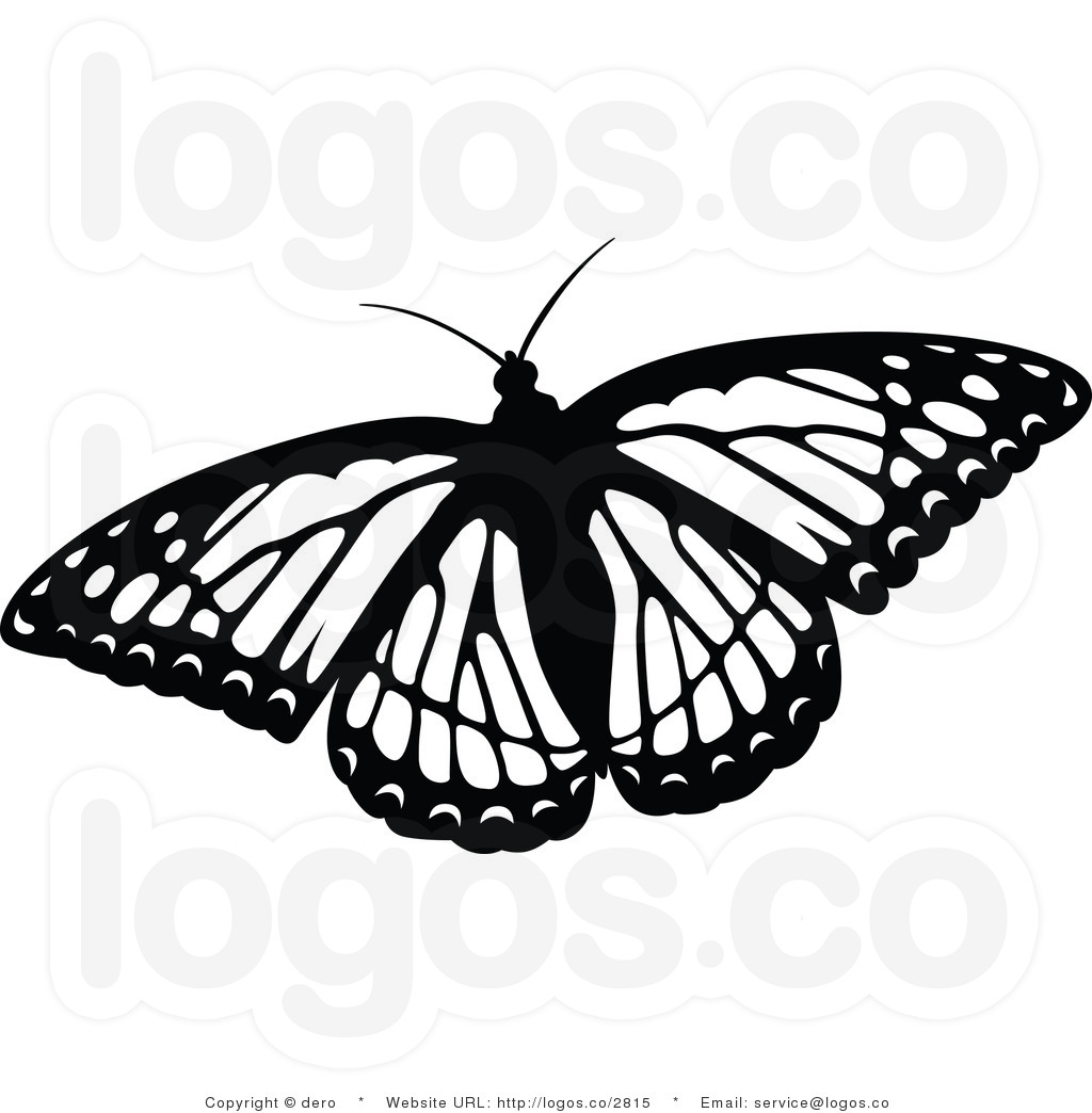 1024x1044 Monarch Butterfly Clipart Black And White
