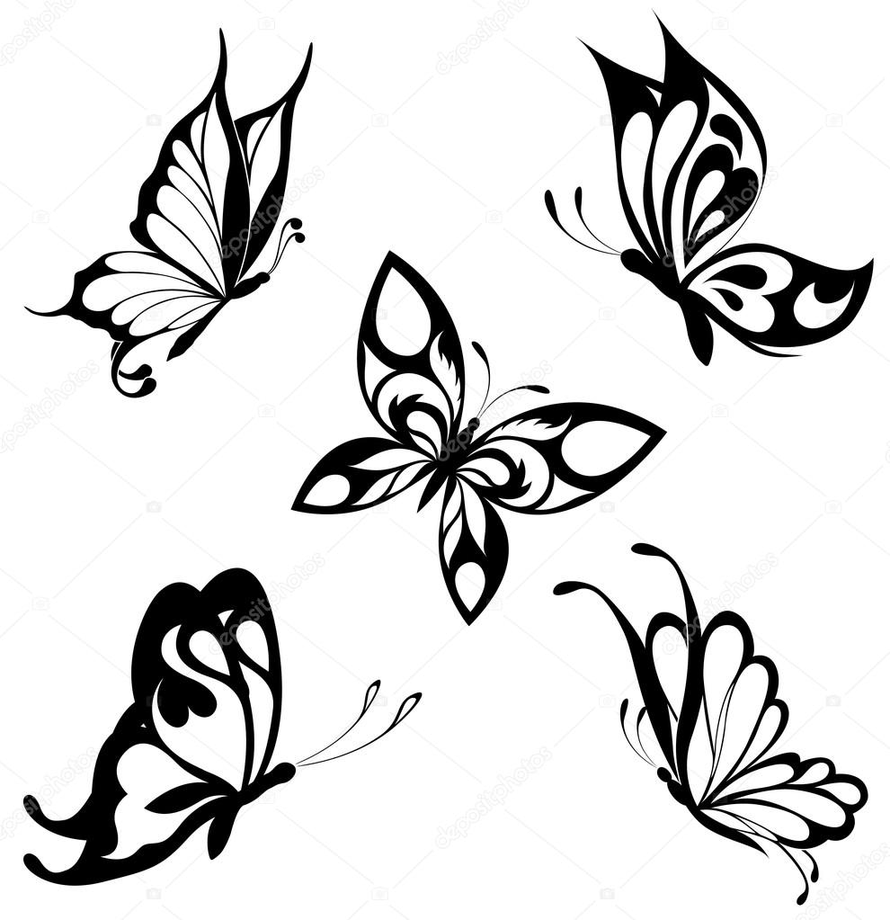 990x1023 Vector Butterfly Images Stock Vectors, Royalty Free Vector