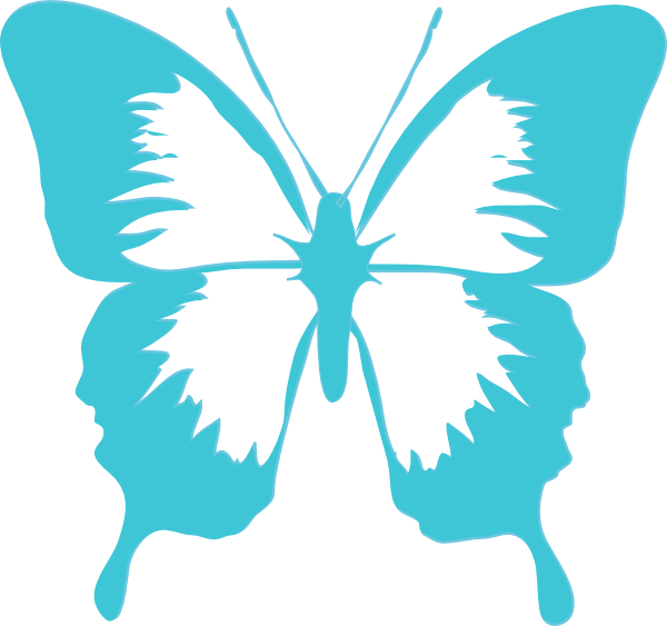 600x563 Butterfly Clip Art