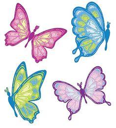 236x261 Butterfly Clipart Line Art 2693025