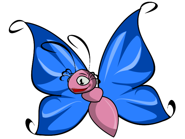 640x480 Butterfly Clipart Cute Butterfly
