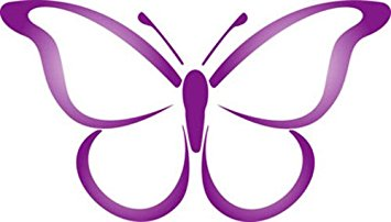 355x202 Ordinary Outline Of Butterfly , Vinyl Stickers , Sticker , H