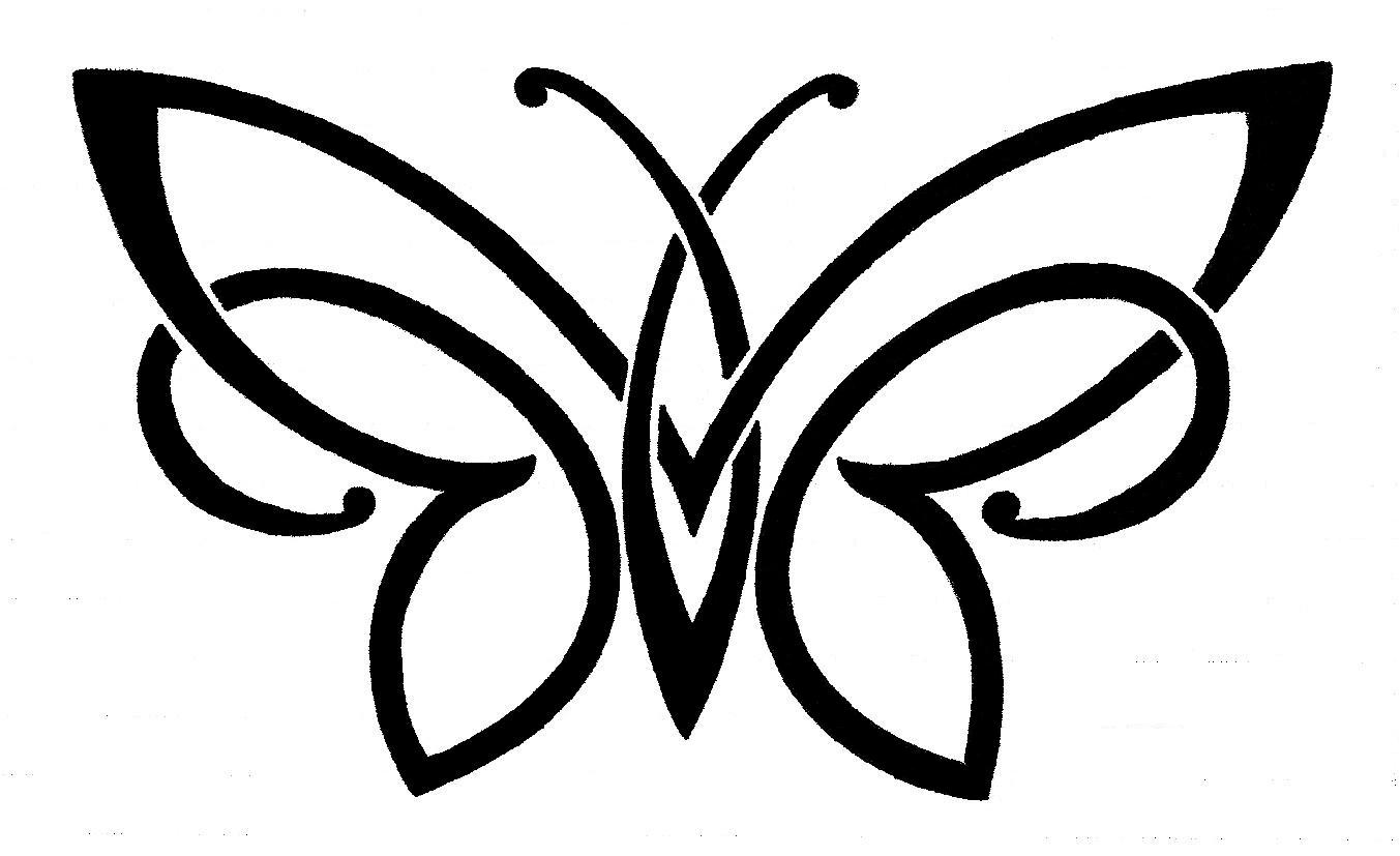 1353x827 Celtic Clipart Butterfly