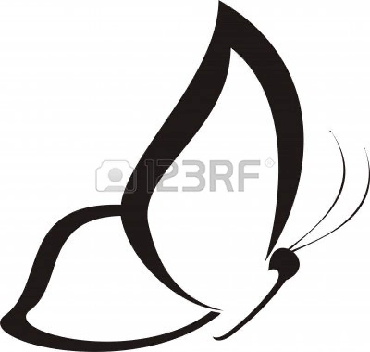 1200x1140 Images For Gt Butterfly Clip Art Outline Inspiration.