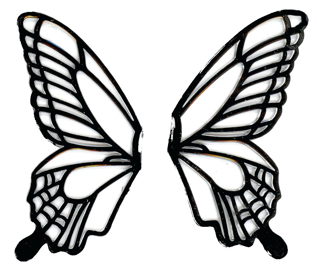 1087x933 Here You Can See The Black White Butterfly Simple Collection Use