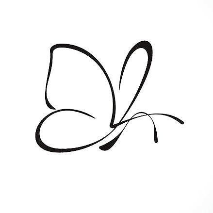 439x439 The Best Simple Butterfly Tattoo Ideas