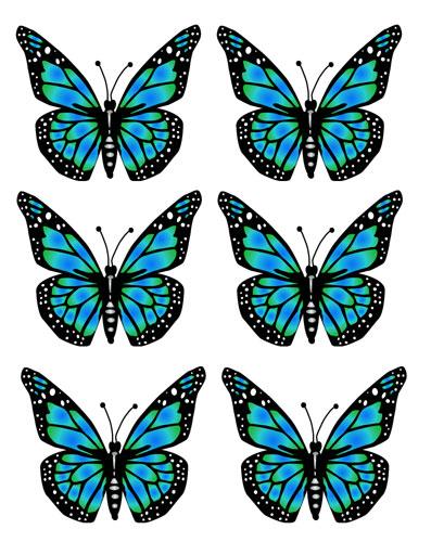 397x500 Transparent Butterflies Clip Art Butterfly Image Clip Art Free