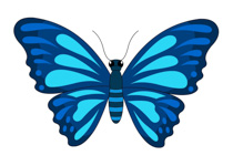 210x150 Butterflies Free Butterfly Clipart Clip Art Pictures Graphics