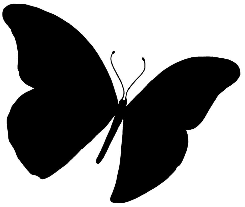 973x822 Butterfly Silhouette Clip Art