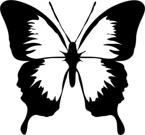 500x465 194 Free Butterfly Vector Clip Art Public Domain Vectors