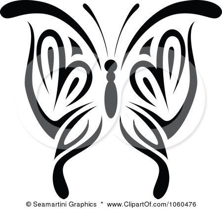 450x425 Royalty Free Vector Clip Art Illustration Of A Black And White