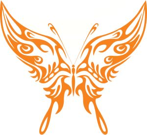 300x276 236 Best Silhouettes Butterfly Silhouettes Images