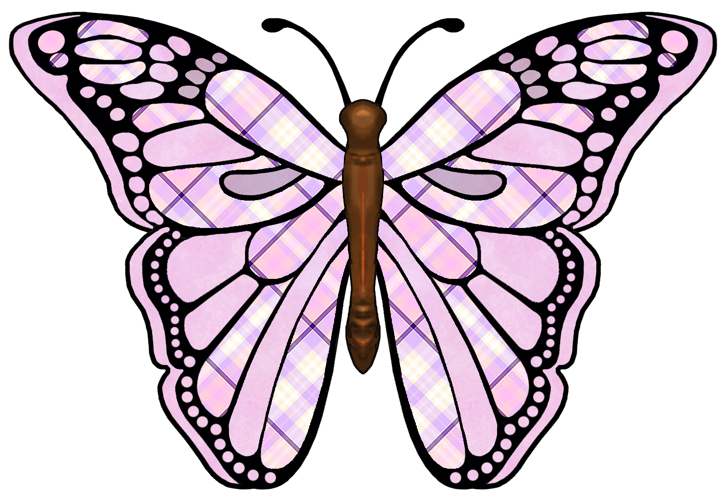 1484x1026 Butterfly Wings Clipart Clipart Panda
