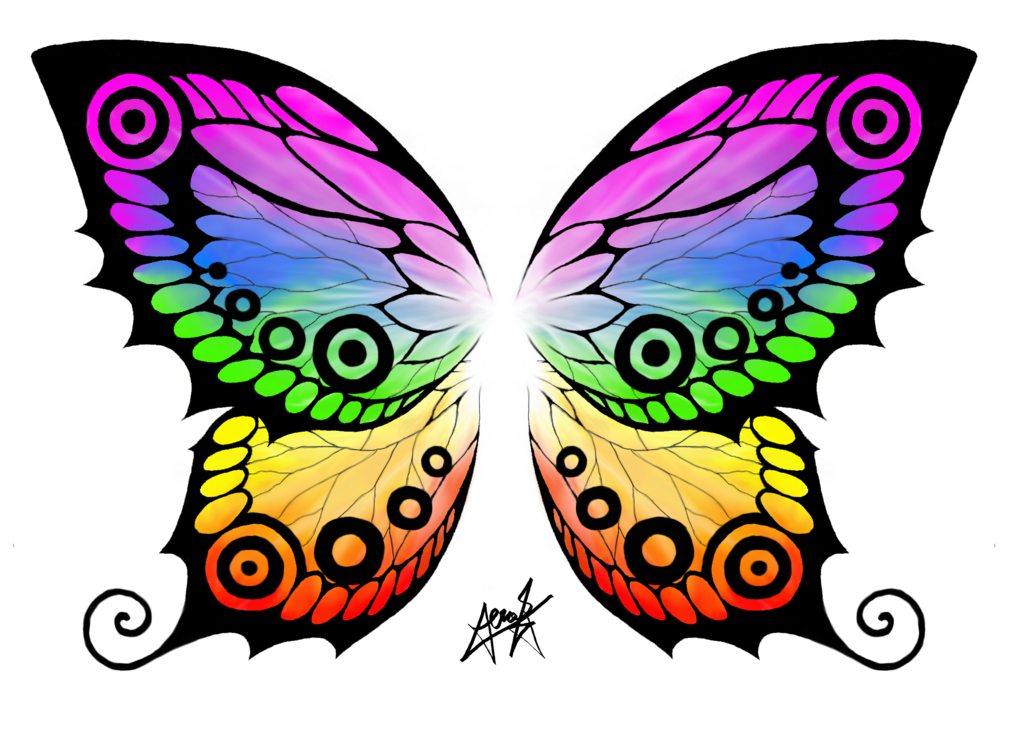 1024x745 Butterfly Wings T Shirt Print By Zephyrxenonymous