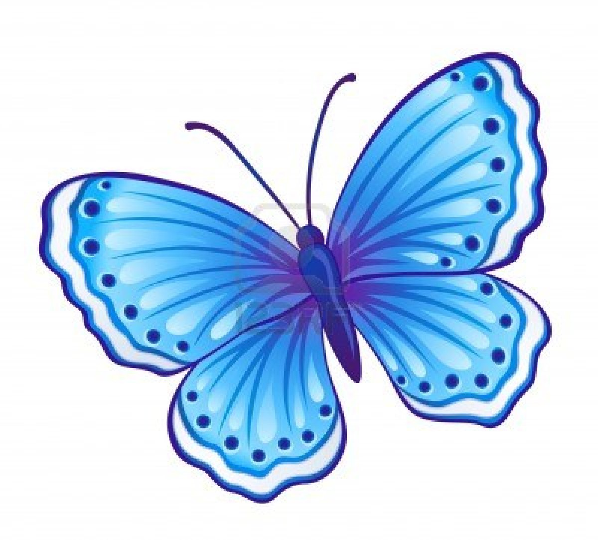 1200x1083 Butterfly With Wings Open Clip Art Cliparts