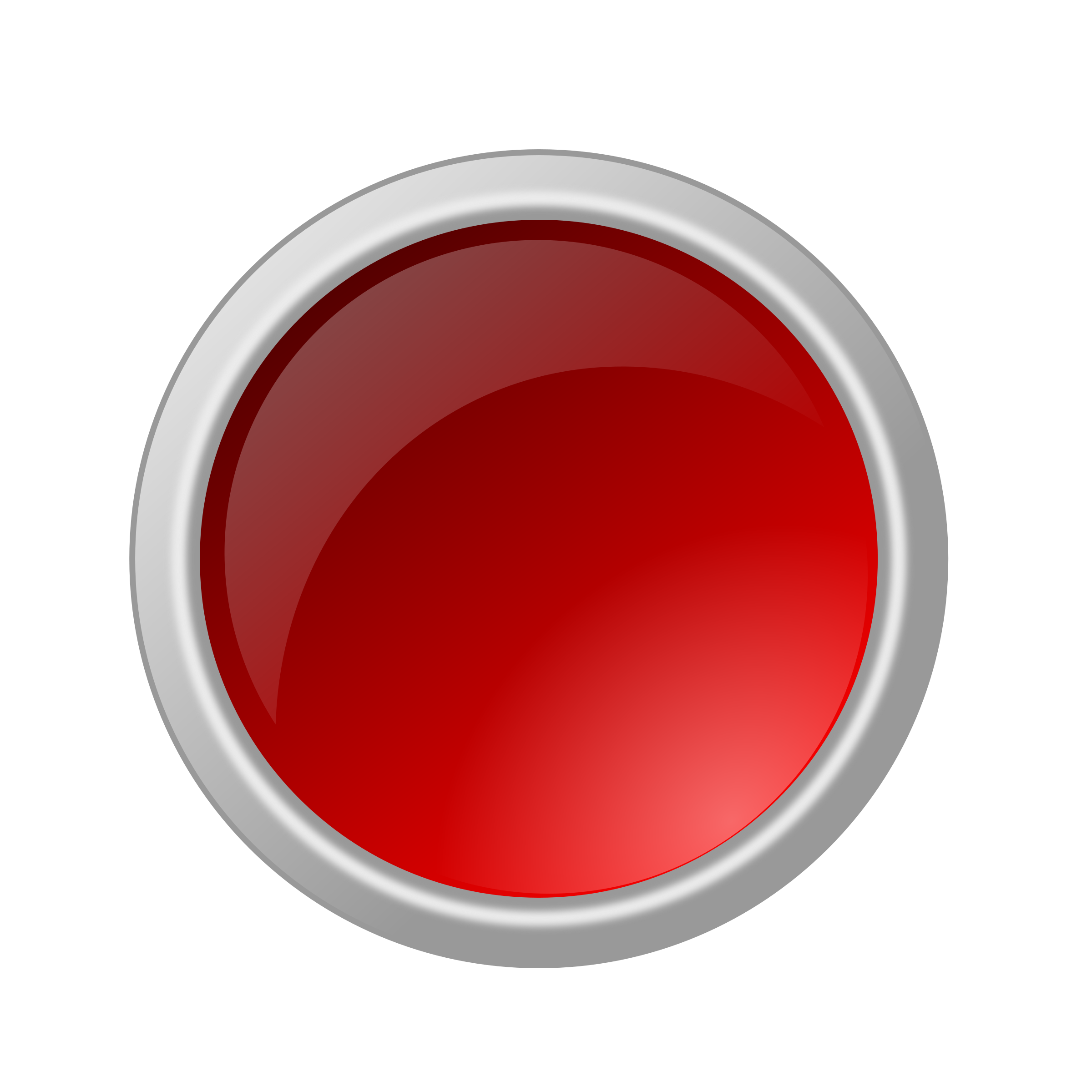 2400x2400 Button Clipart Red Button