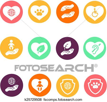 450x429 Clip Art Of Charity Donation Social Services And Volunteer White