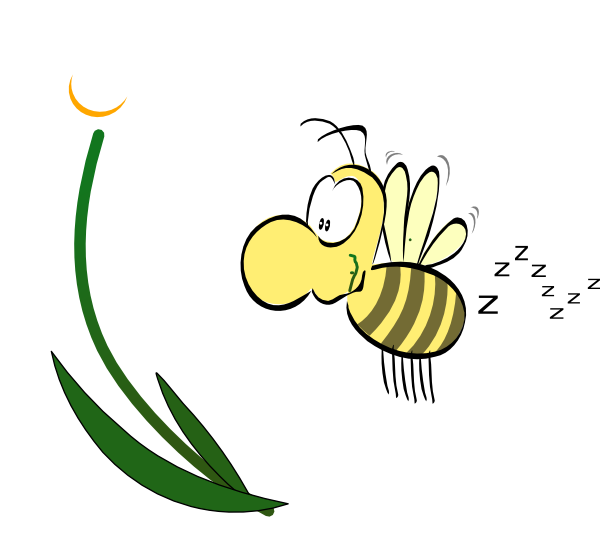 600x535 Free Buzzing Bee Clipart Image