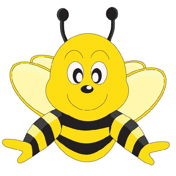 600x600 Funny Clipart Bee