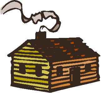 323x297 Log Cabin Clipart Free Download Clip Art On 5