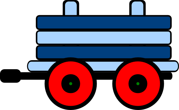 600x369 Caboose Blue Train Car Clipart Cliparts And Others Art Inspiration