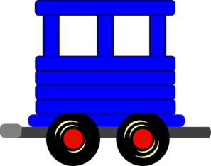297x234 Loco Train Carriage Clip Art