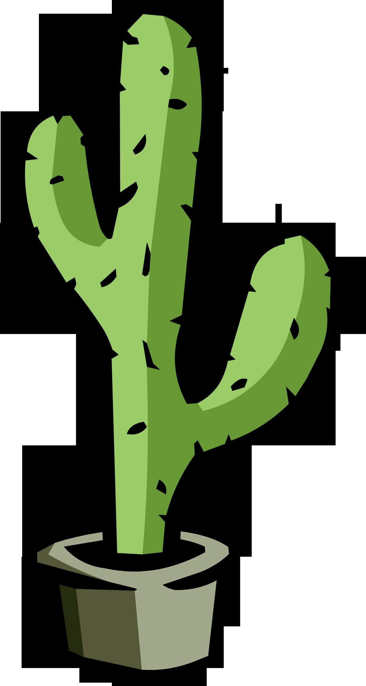 1204x2255 Cactus PNG Clipart PNG Mart