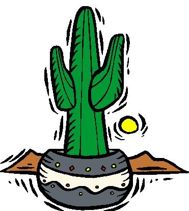 371x414 Cactus Clip Art 8 Image