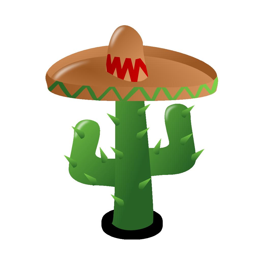 999x999 Cactus clip art 9 image