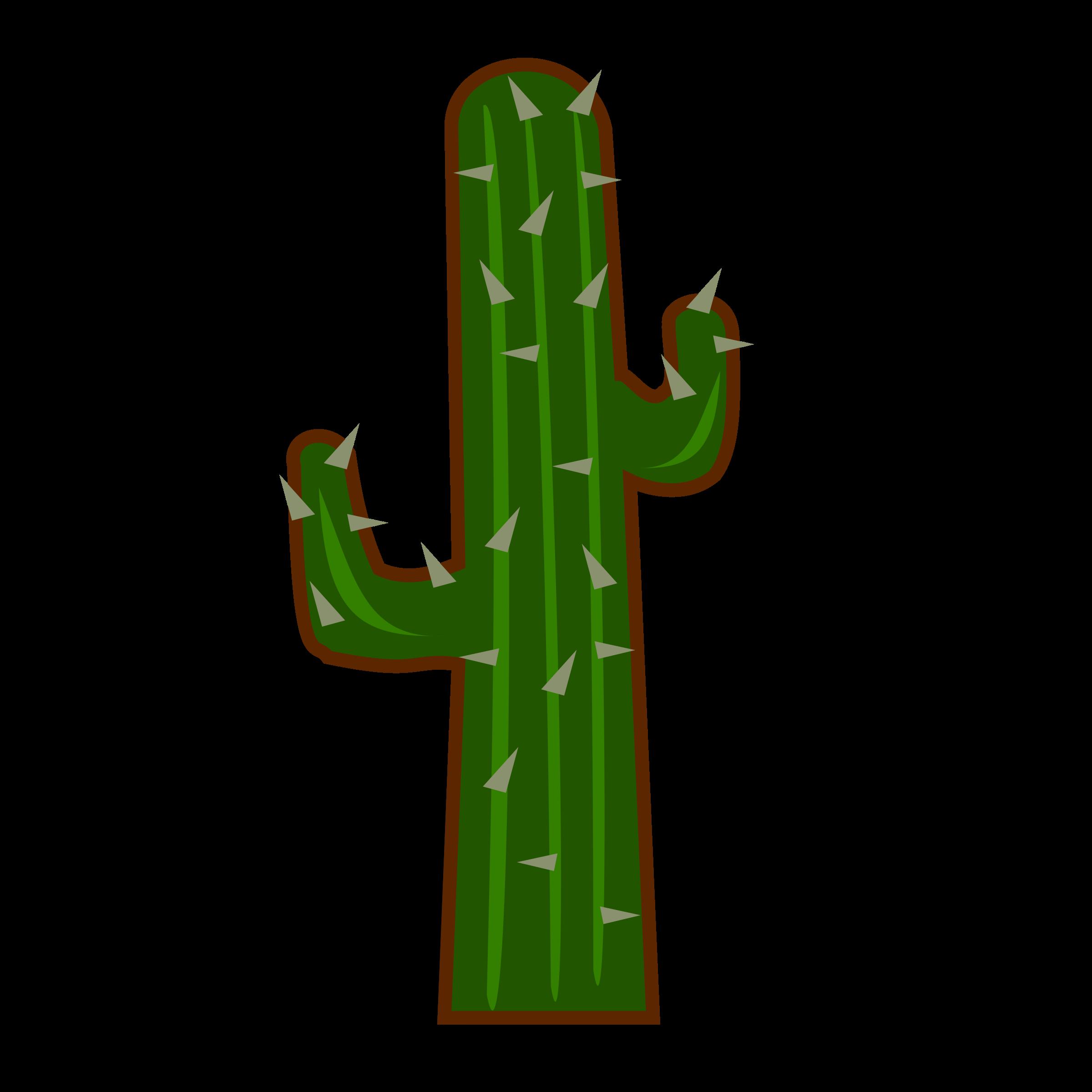 2400x2400 Cactus clip art mart