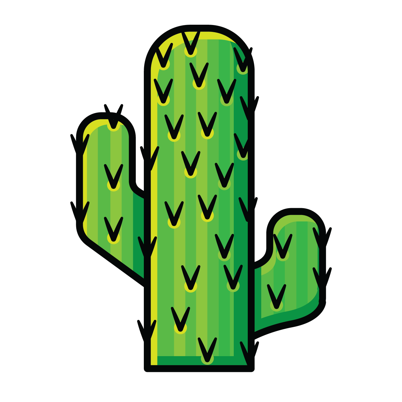 Cactus green. Clipart free download best