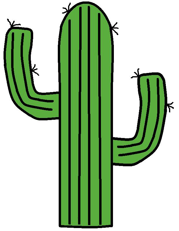 610x785 Clip art clip cactus clipartix