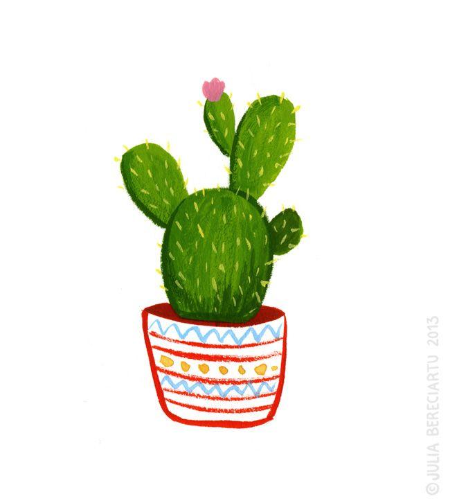 650x726 Cactus Clipart Drawn