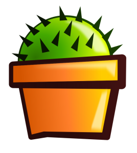 268x300 Cactus Flower Clip Art Download