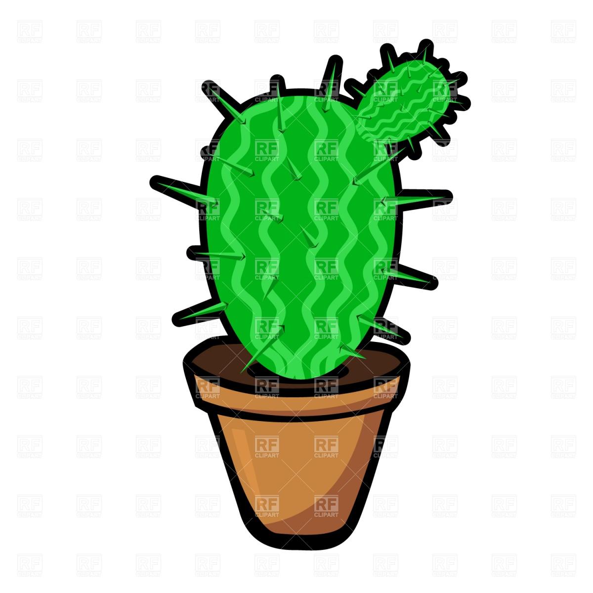 1200x1200 Cactus Royalty Free Vector Clip Art Image
