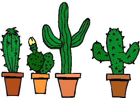 466x329 Mexican Cactus Clipart