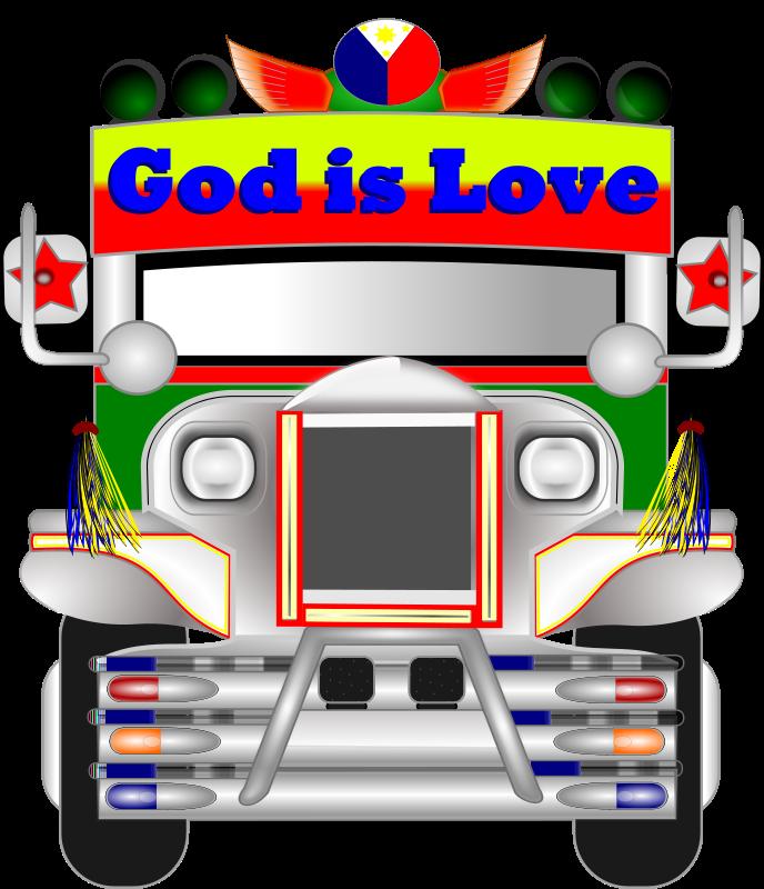 688x800 Free Clipart Philippine Jeepney Wsnaccad