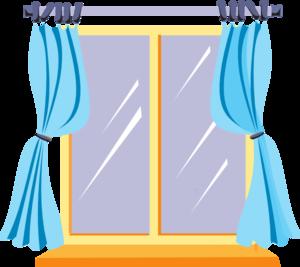 300x267 House Window Clipart