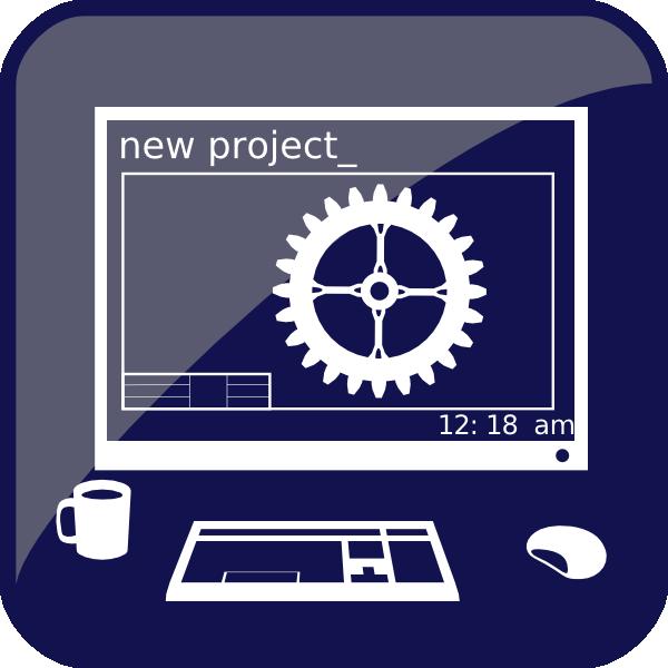 600x600 New Project Clip Art