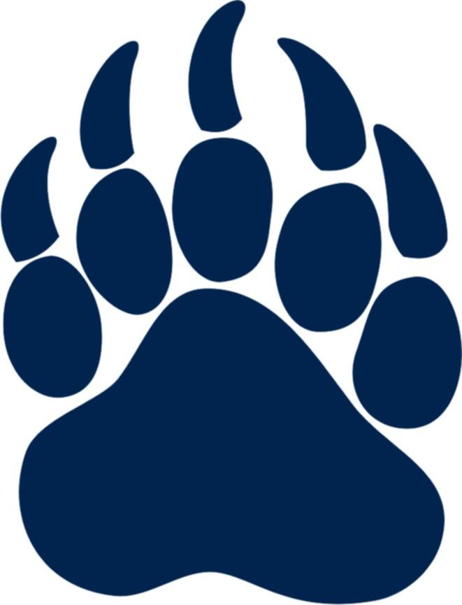 661x866 Bear Paw Clipart