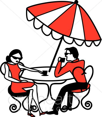 341x388 International Cafe Clipart Honeymoon