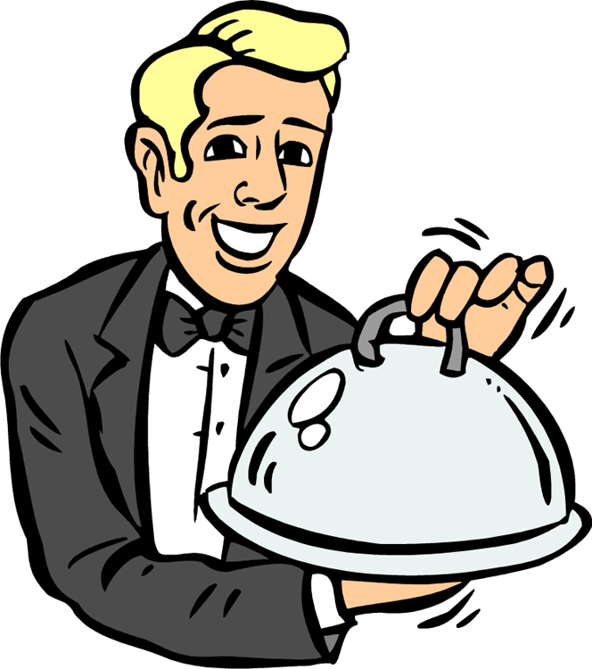 664x750 Lunch Clipart Diner
