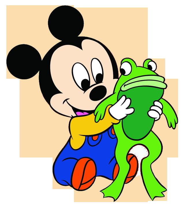 627x715 Baby Mickey Clipart