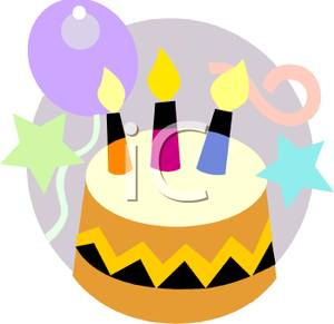300x291 Birthday Cake And Balloons Clipart 2169094